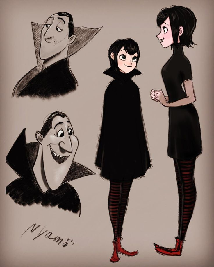 """2016/1/26 #hoteltransylvania #mavis #dracula #drawing #sketch #ipadpro #applepencil #procreate #モンスターホテル #メイヴィス"""