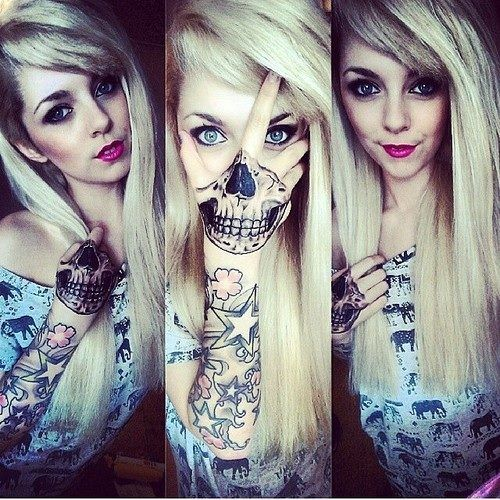 Tattoo Woman Face Mask: 1000+ Ideas About Hand Tattoos Girl On Pinterest