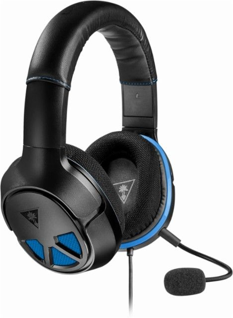Turtle Beach - RECON 150 Wired Gaming Headset for PS4 PRO, PS4, Xbox One, PC, Mac, and Mobile/Tablet Devices - Black - Angle_Zoom