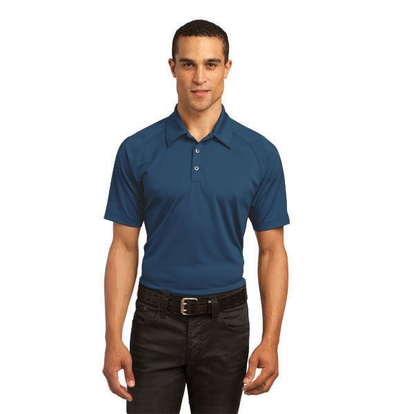 Optic Polo BRAND: OGIO Has heat transfer label for tag free comfort and 3-Snap placket with debossed OGIO metal snaps