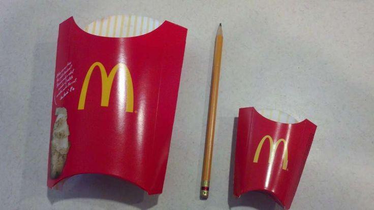 """""""Super Sized"""" … McDonald's bietet seit 1993 großformatige Gerichte an. Aber …"""