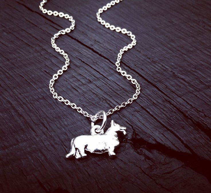 Corgi Charm Necklace | Corgi Jewelry | Jewelry Gift For Corgi Lover | Corgi Rescue And Foster Jewelry Gift | Corgi Transport And Adoption by SecretHillStudio on Etsy https://www.etsy.com/listing/517759333/corgi-charm-necklace-corgi-jewelry