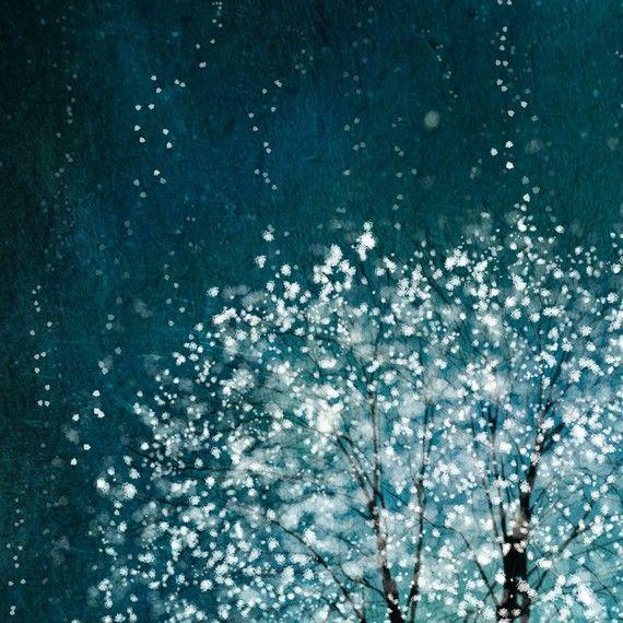 Geest van Water 11 x 14-Kerstmis geschenken-boom door sarusdesignart