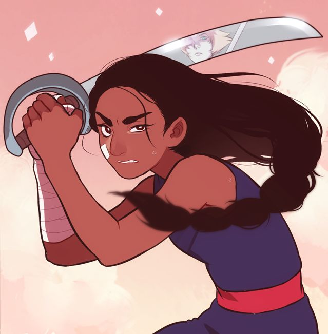 Connie vs. Pearl. Awesome