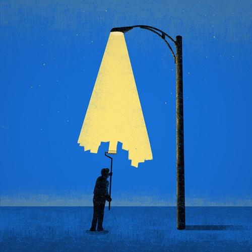 Cartazes minimalistas da semana