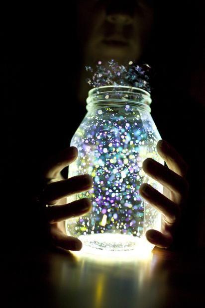 Como fazer uma jarra fluorescente