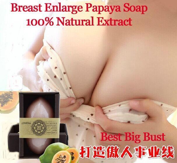 Breast Enlarge Papaya Soap Whitening Moisturizing Breast Enlargement Moisturizing Essential Massage Oil Natural Handmade Soap