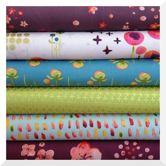 The Natural Loom - HAIKU by Monaluna - 6PCE Fat Quarter ORGANIC Fabric Bundle, $30.00 (http://www.thenaturalloom.com.au/haiku-by-monaluna-6pce-fat-quarter-organic-fabric-bundle/)