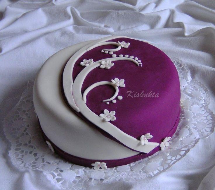 virágos torta - Google Search