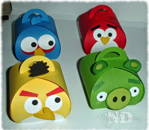 Paper Dreams & Creative Wishes. Angry Birds characters
