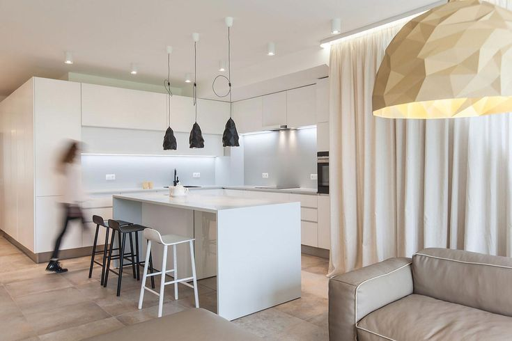 """Victory apartment designed with the greatest attention to detail, made to measure, clean lines, reducing the colour scheme to a minimal Architects:VOOOD Location:Sofia, Bulgaria Year: 2016 Area: 1.184 ft²/ 110 m² Photo courtesy:Volen Valentinov Description: """"This 110 m² apartment has been designed with the greatest attention to detail. Made to measure, clean lines, reducing the …"""
