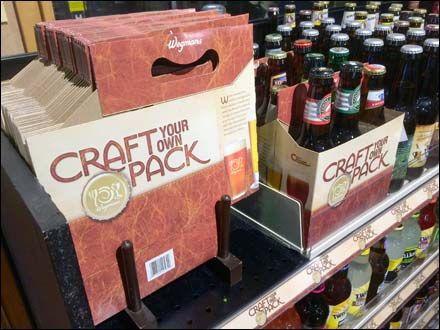 wegmans craft your own craft beer - Beer Merchandiser