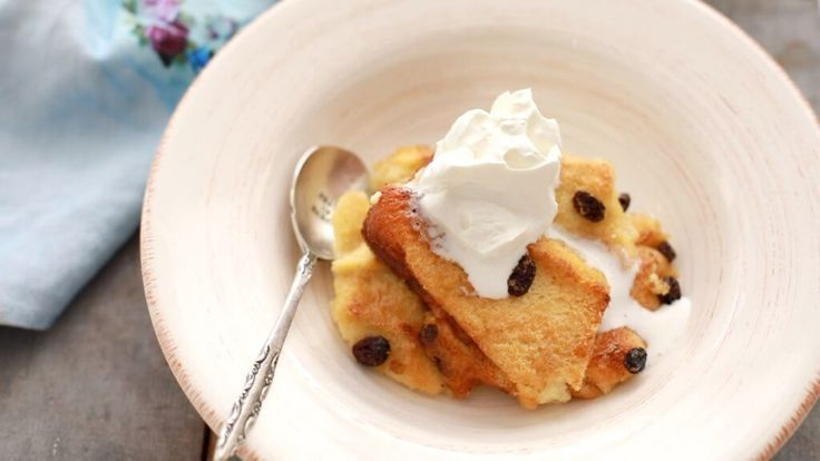 My traditional Irish Bread & Butter Pudding recipe was a staple in my home growing up. Enjoy this hearty dessert for St. Patrick's Day or anytime of year!