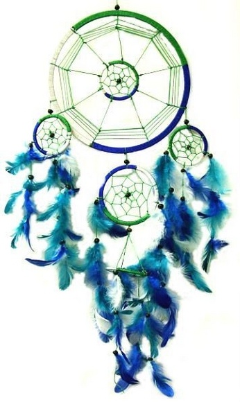 I love dreamcatchers. they remind me of when i was a kid
