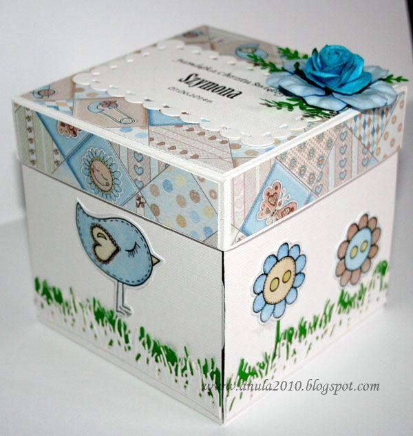 pudełko na chrzest