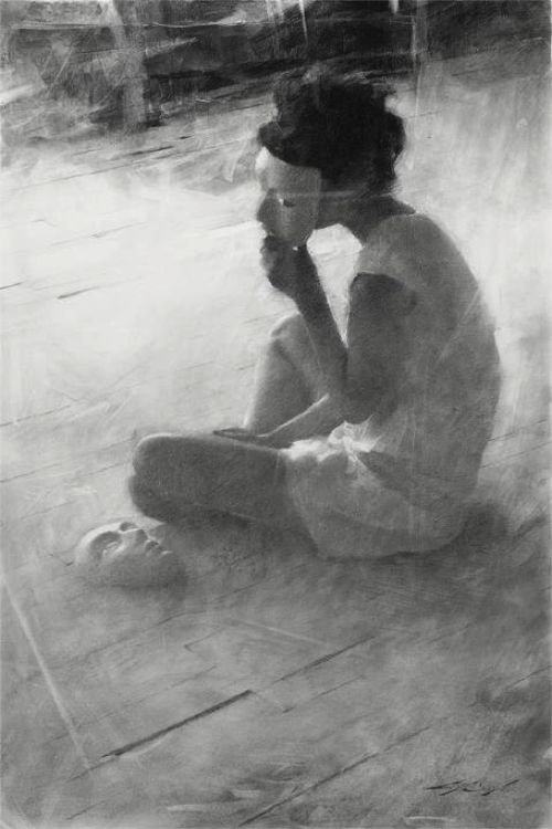 Casey Baugh - Another Face to Wear.