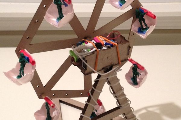 Check out this littleBits project! Save ferris