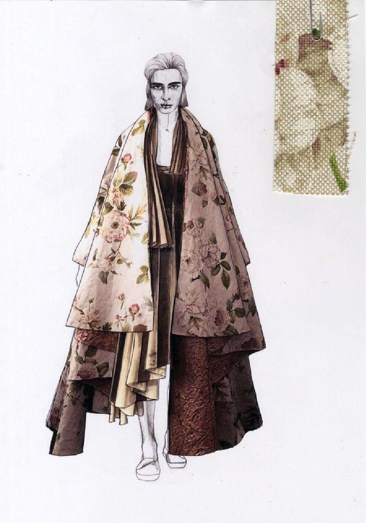 Fashion Sketchbook - fashion illustration; fashion portfolio // Milena Konakchieva