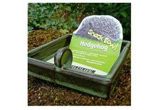 A convenient, hygienic and easy clean food 'snack bowl' for hedgehogs and other small mammals.
