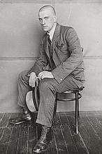 Rodchenko, Alexander: Portrait of Vladimir Mayakovsky