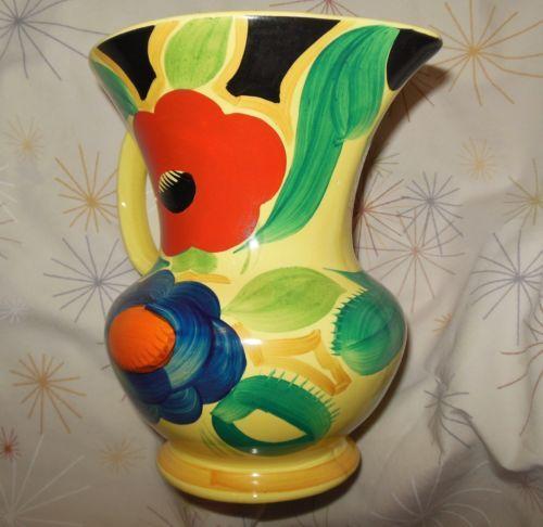 Susie Cooper Art Deco Vase 1930s Crown Works Burslem