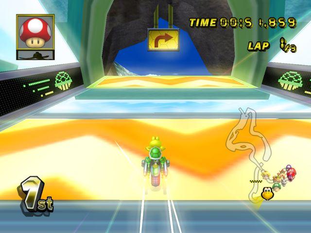 Daisy Circuit From Mario Kart Wii Mario Kart Wii Pinterest