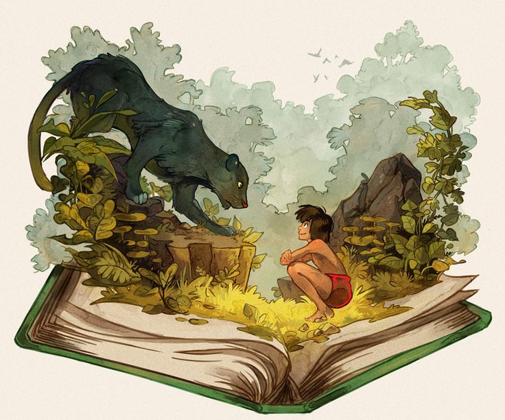 The Jungle Book by Picolo-kun.deviantart.com on @DeviantArt