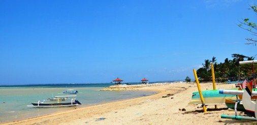 Pleasant White and Thick Sand - Sanur Beach, Bali