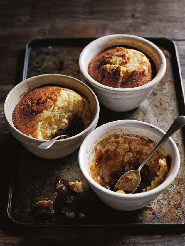 sticky ginger puddings from donna hay fast issue #82