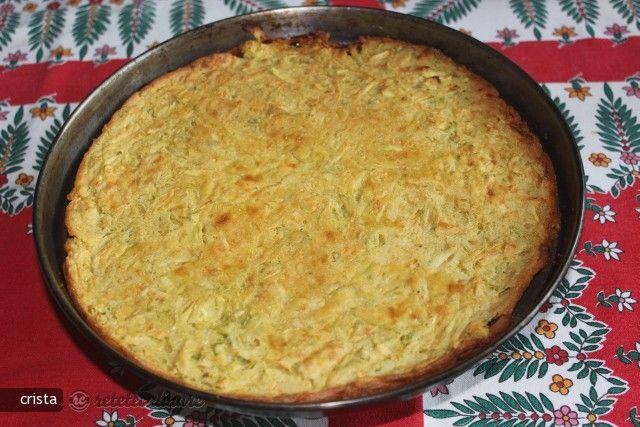 Reteta culinara Omleta de Post din Faina de Naut - cu Dovlecel din Carte de bucate, Mancaruri cu legume si zarzavaturi. Specific Italy. Cum sa faci Omleta de Post din Faina de Naut - cu Dovlecel
