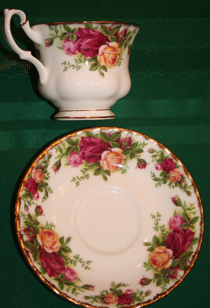 Royal Albert Old Country Roses...my mother-in-laws set for 12.