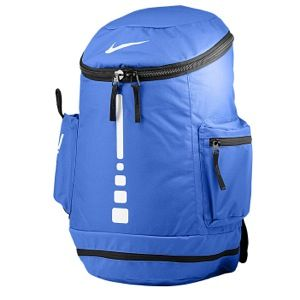 Blue Nike elite backpack to hold my items