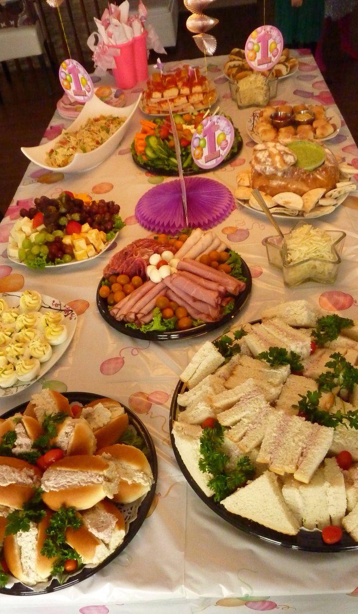 Buffet Fête à Magalie (Home made) JR