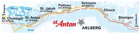 Willkommen in der Ferienregion St.Anton am Arlberg, St. Anton, St. Christoph, Pettneu, Schnann, Flirsch, Strengen - Tirol - Österreich