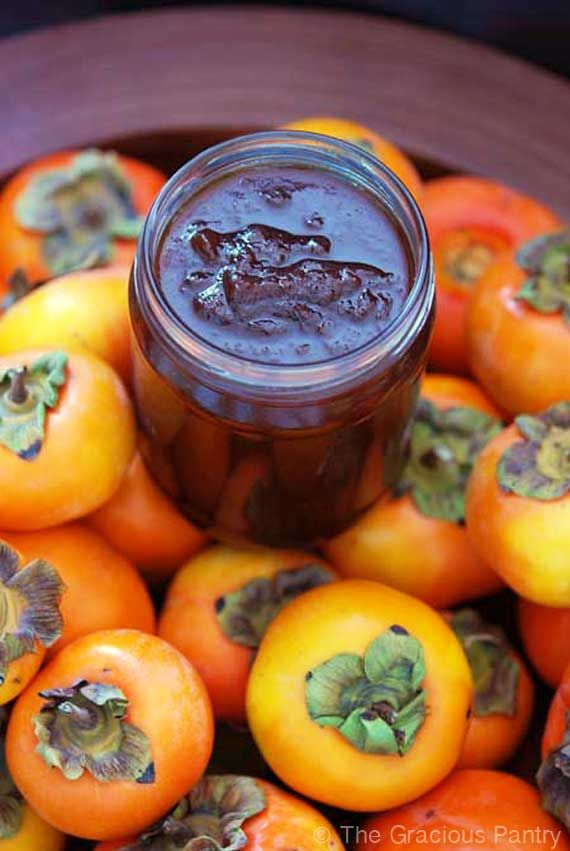 Clean Eating Recipes | Clean Eating Persimmon Jam... Good idea for using up the neighbor's persimmons falling into my yard.
