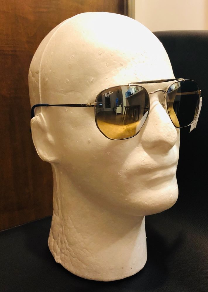 6b0c1d8f48 Authentic RayBan RB 3648 The Marshal 003 9U Pilot Sunglasses Gradient  Mirror  fashion  clothing  shoes  accessories  unisexclothingshoesaccs ...