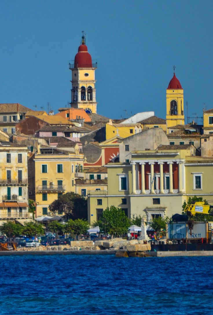 Corfu Town, Greece #traveltoGReece