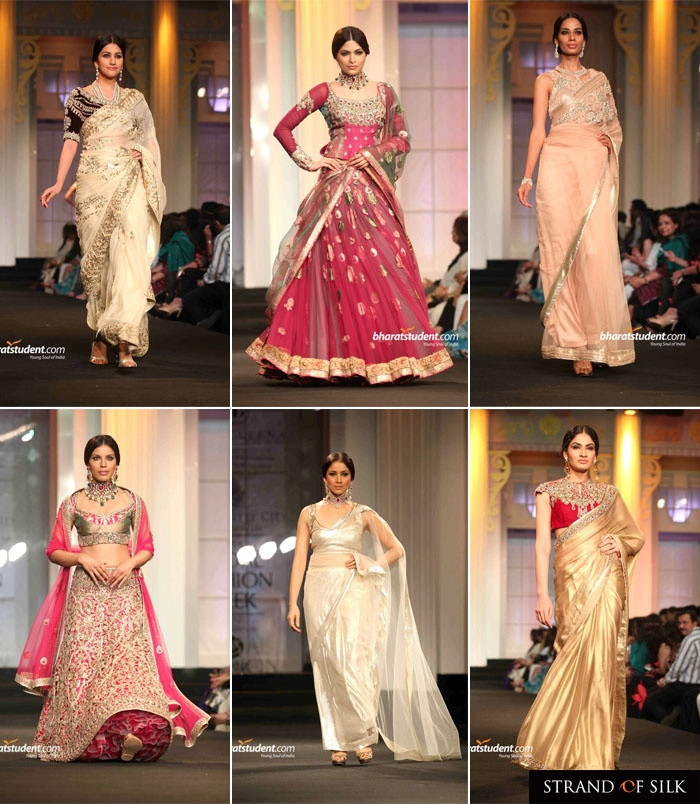Indian Fashion - Indian Designer - Ashima Leena at Aamby Valley India Bridal Fashion Week 2012    Blog Posts by http://strandofsilk.com/indian-fashion-blog/stylish_thoughts  Read about Indian Designer Fashion and Indian Clothes, including the latest from leading Indian Fashion Designers