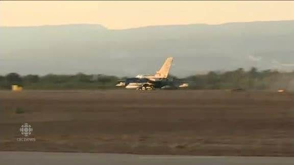 RAW: RAF joins coalition airstrikes British fighter jets land in Cyprus after carrying out their first airstrikes in Iraq