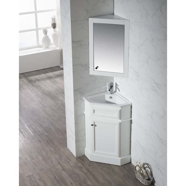 Overstock Com Online Shopping Bedding Furniture Electronics Jewelry Clothing More Corner Bathroom Vanity Bathroom Vanity Medicine Cabinet Mirror