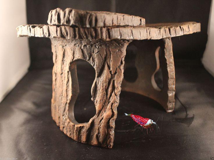 aquarium haus h hle xxl versteck deko terrarium ebay aquathier. Black Bedroom Furniture Sets. Home Design Ideas