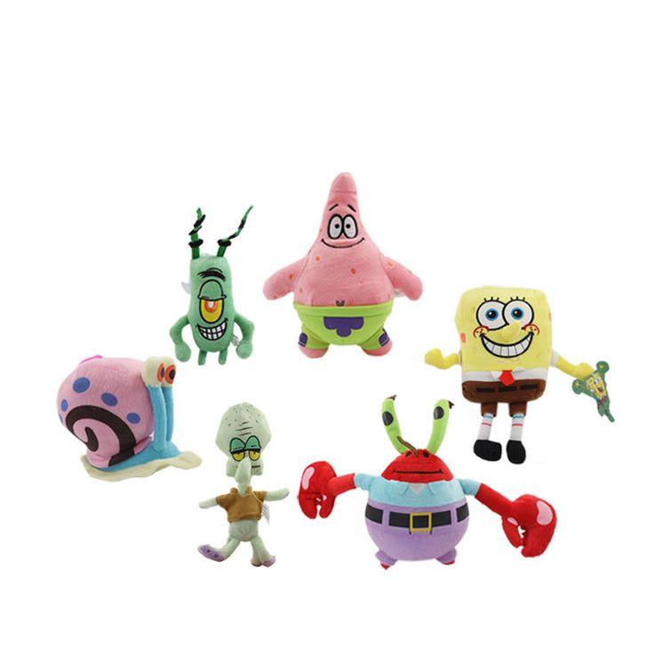$4.24 (Buy here: https://alitems.com/g/1e8d114494ebda23ff8b16525dc3e8/?i=5&ulp=https%3A%2F%2Fwww.aliexpress.com%2Fitem%2FKawaii-Spongebob-Plush-Toys-Sponge-Bob-Patrick-Crab-Plankton-Octopus-Snail-Plush-Children-Gift-Spongebob-Stuffed%2F32750477393.html ) Kawaii Spongebob Plush Toys Sponge Bob Patrick Crab Plankton Octopus Snail Plush Children Gift Spongebob Stuffed Toy for just $4.24