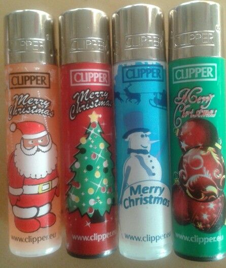 Christmas Lighters from CLIPPER