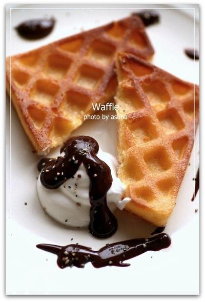 100均の型でWaffle by asunaさん | レシピブログ - 料理ブログのレシピ ...