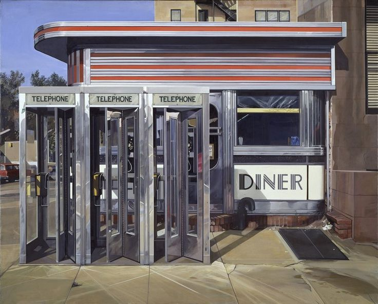 Painting Or Photograph? With Richard Estes, It's Hard To Tell : NPR