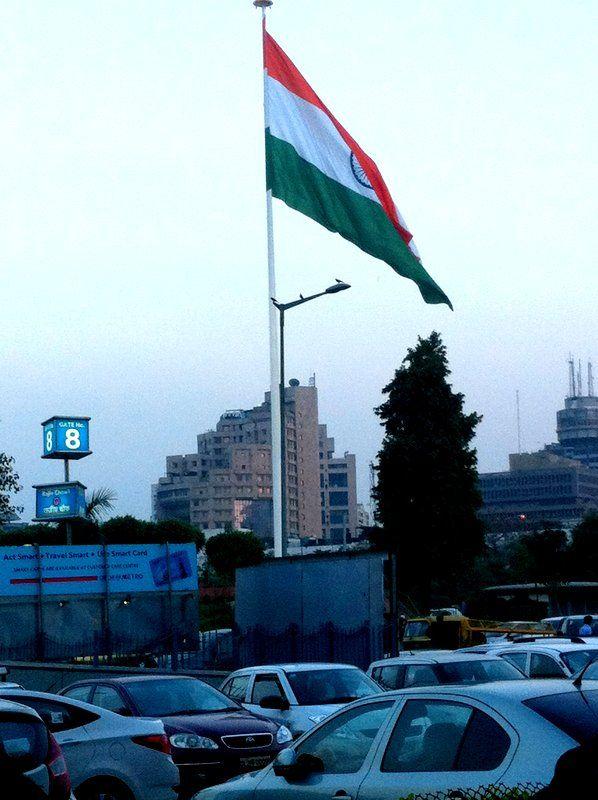 Tiranga in the Heart of City : CP, New Delhi