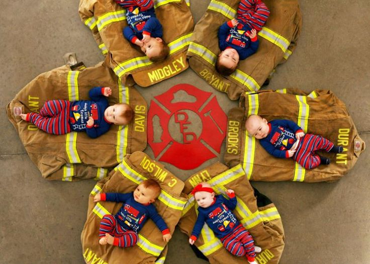 Oklahoma Fire Department Creates Cutest Christmas Card Ever with Squad of Tiny Firefighters