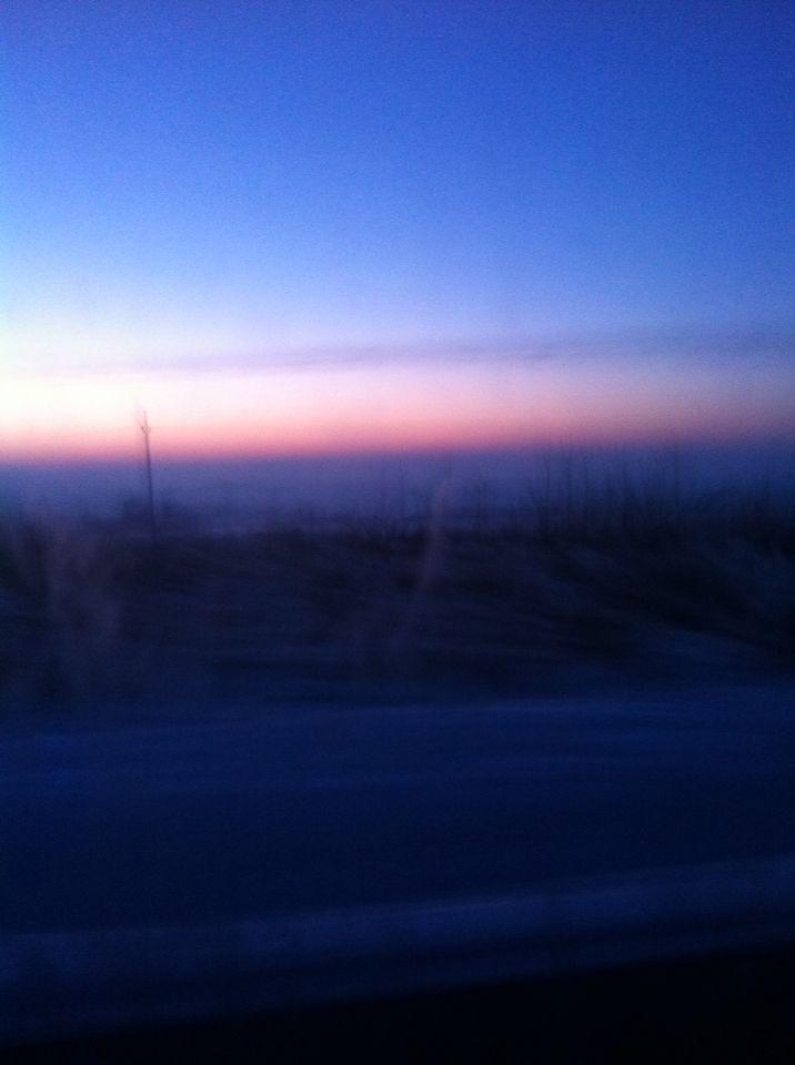 Nádherná obloha na chalupě:)