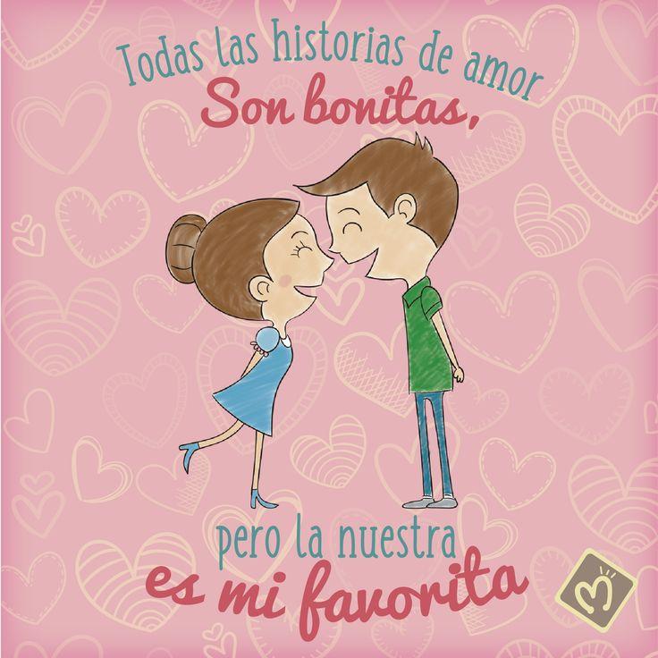 Todas las historias de amor son bonitas, pero la nuestra es mi favorita. #LoveStory #Migas #FábricaDeSueños