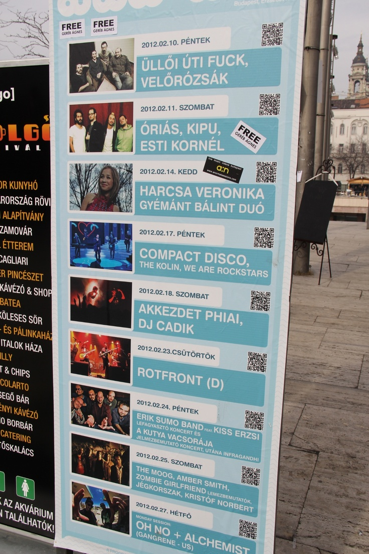 Concert Schedule of Akvarium Club in Budapest